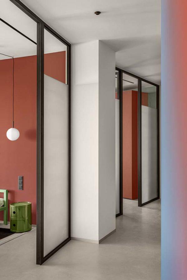 Дизайн интерьера апартаментов «Blue Terracotta» by Rina Lovko Studio - фото 20