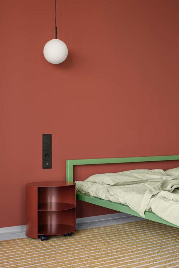 Дизайн интерьера апартаментов «Blue Terracotta» by Rina Lovko Studio - фото 22