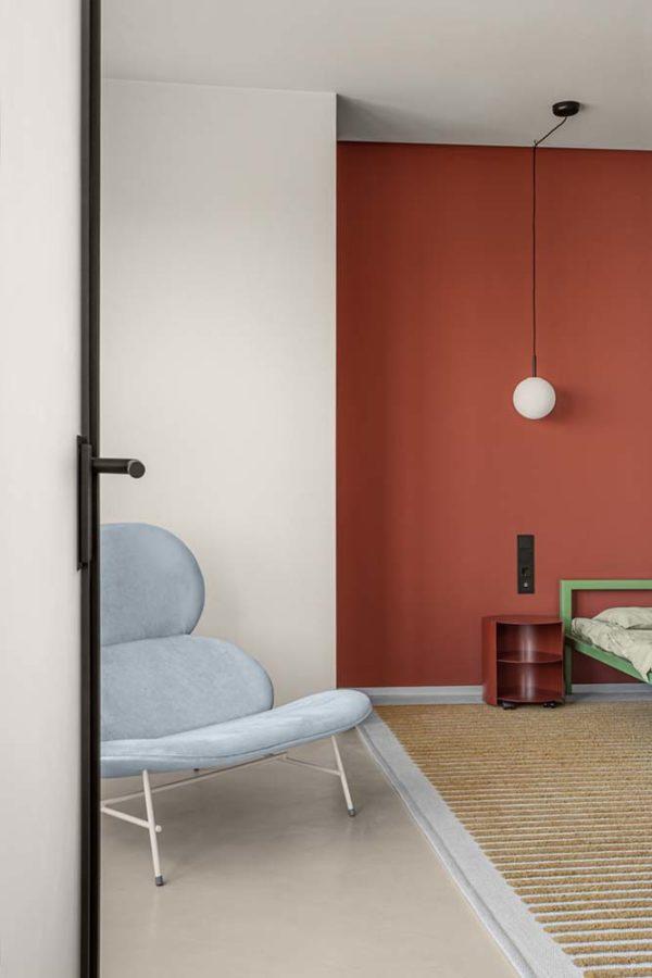 Дизайн интерьера апартаментов «Blue Terracotta» by Rina Lovko Studio - фото 23