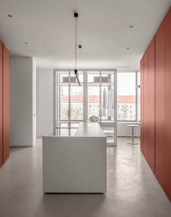 Дизайн интерьера апартаментов «Blue Terracotta» by Rina Lovko Studio - фото 26