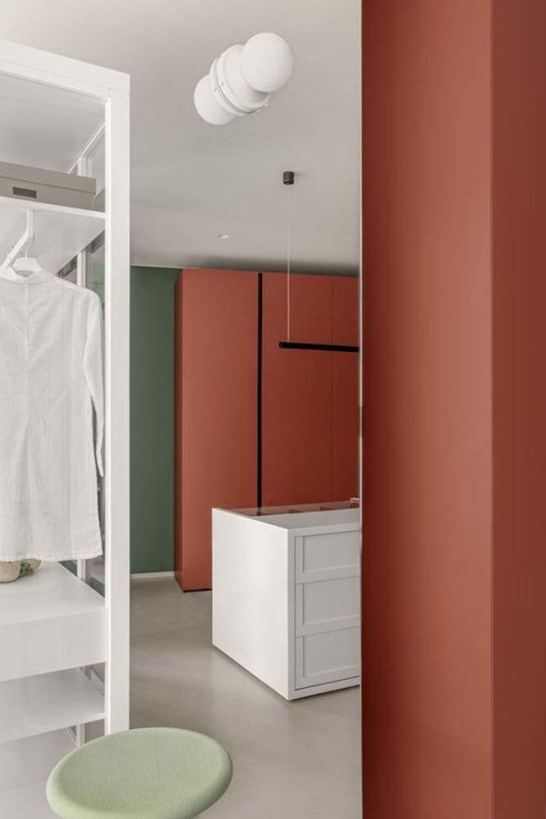 Дизайн интерьера апартаментов «Blue Terracotta» by Rina Lovko Studio - фото 28