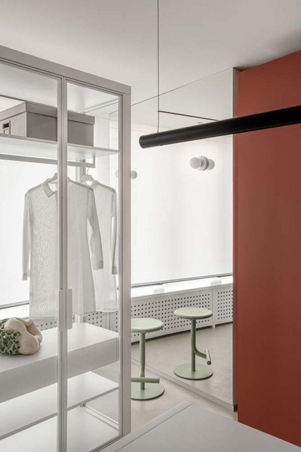 Дизайн интерьера апартаментов «Blue Terracotta» by Rina Lovko Studio - фото 29