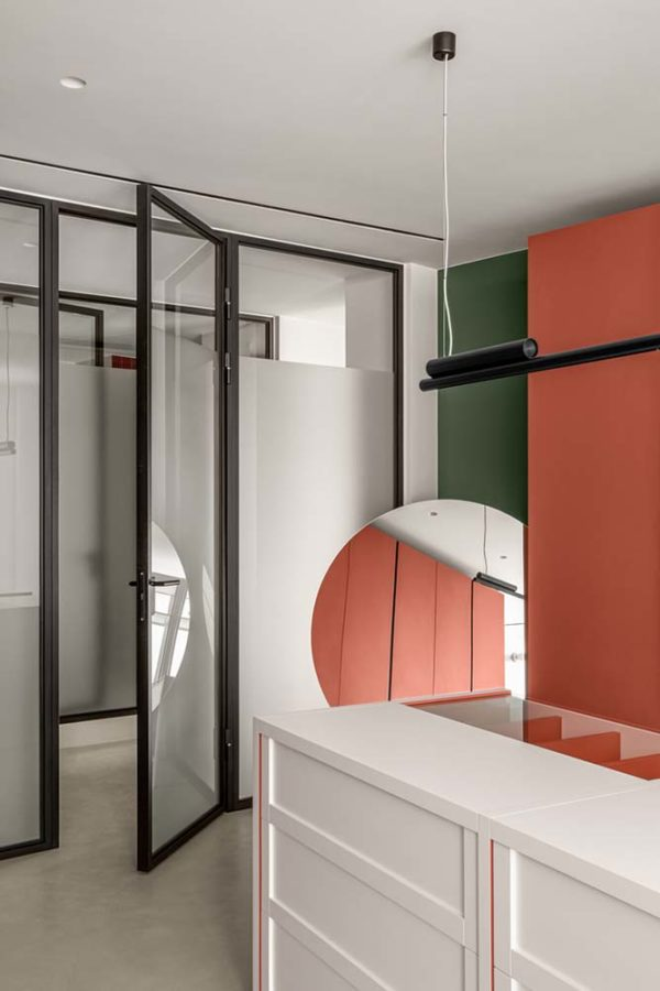 Дизайн интерьера апартаментов «Blue Terracotta» by Rina Lovko Studio - фото 32