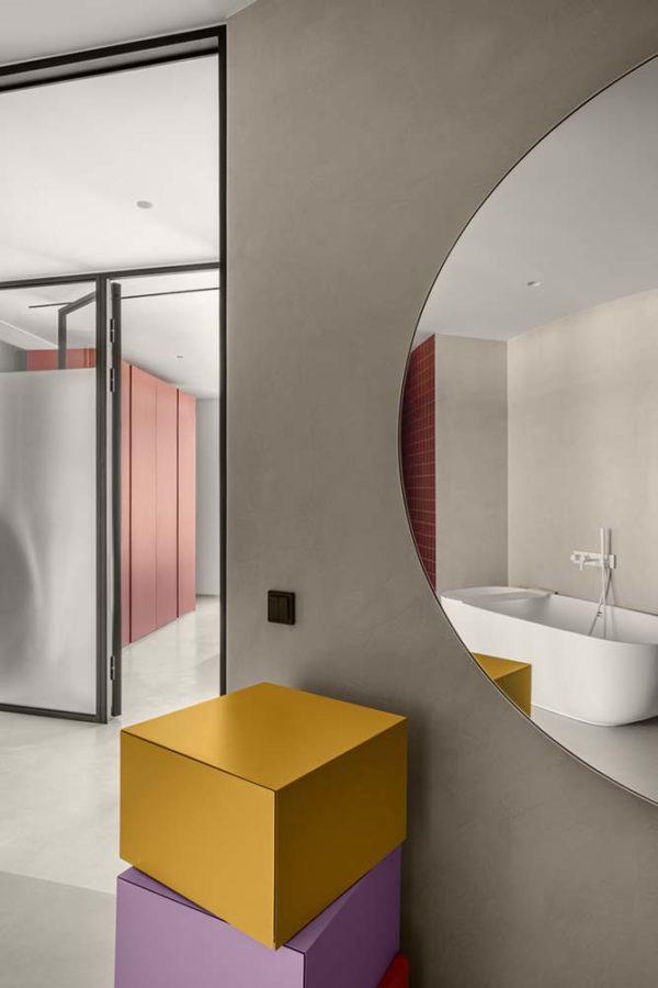 Дизайн интерьера апартаментов «Blue Terracotta» by Rina Lovko Studio - фото 35