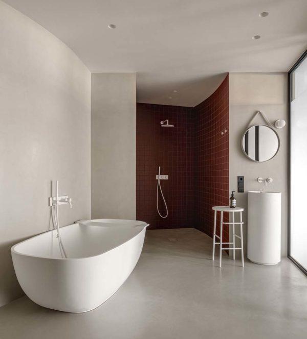 Дизайн интерьера апартаментов «Blue Terracotta» by Rina Lovko Studio - фото 36