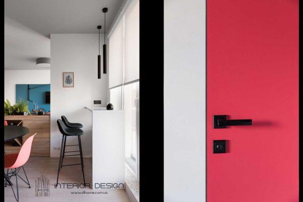 Дизайн интерьера 1-комн.кв. «BRIGHT MOOD» by DIHOME - фото 17