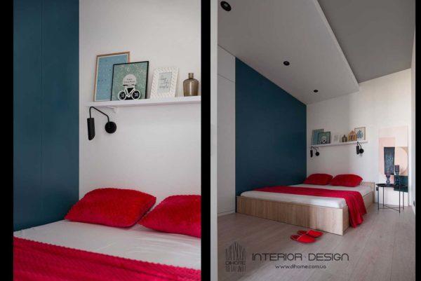 Дизайн интерьера 1-комн.кв. «BRIGHT MOOD» by DIHOME - фото 18