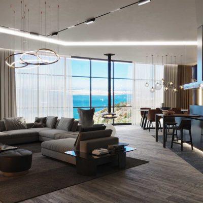 Дизайн интерьера однокомнатной квартиры «Модерн в ЖК Busov Hill» by NS INTERIOR DESIGN