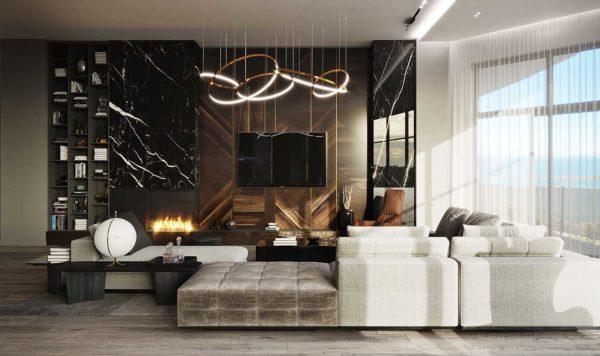 Дизайн интерьера однокомнатной квартиры «Модерн в ЖК Busov Hill» by NS INTERIOR DESIGN - фото 3