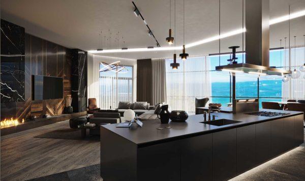 Дизайн интерьера однокомнатной квартиры «Модерн в ЖК Busov Hill» by NS INTERIOR DESIGN - фото 5