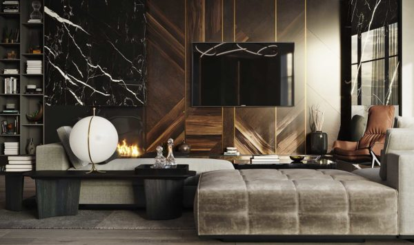 Дизайн интерьера однокомнатной квартиры «Модерн в ЖК Busov Hill» by NS INTERIOR DESIGN - фото 6