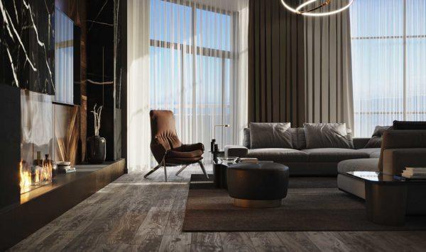 Дизайн интерьера однокомнатной квартиры «Модерн в ЖК Busov Hill» by NS INTERIOR DESIGN - фото 7