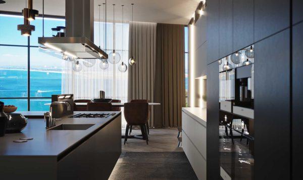 Дизайн интерьера однокомнатной квартиры «Модерн в ЖК Busov Hill» by NS INTERIOR DESIGN - фото 8