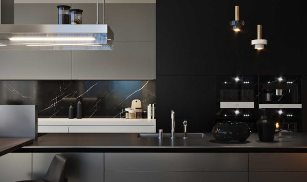 Дизайн интерьера однокомнатной квартиры «Модерн в ЖК Busov Hill» by NS INTERIOR DESIGN - фото 9