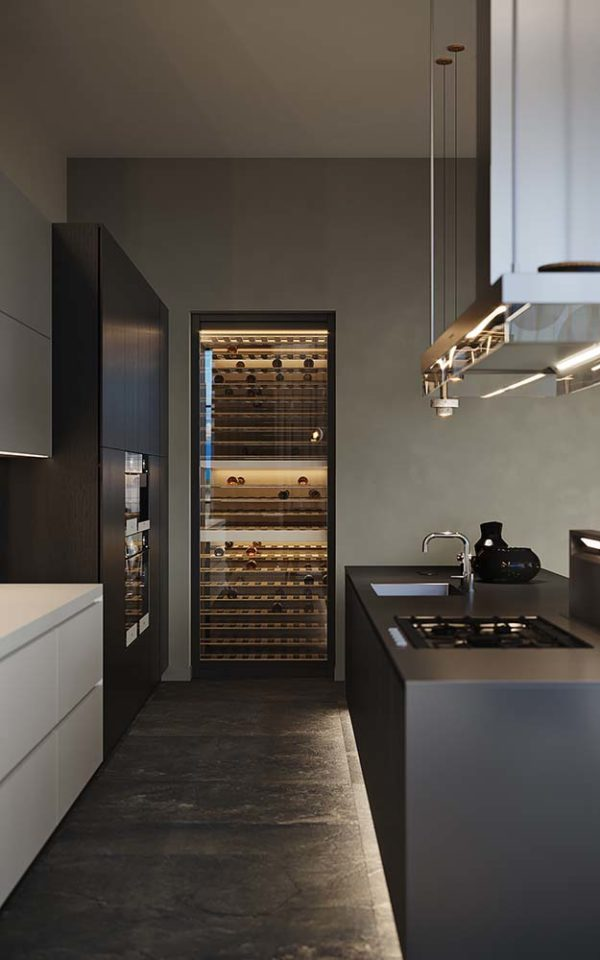 Дизайн интерьера однокомнатной квартиры «Модерн в ЖК Busov Hill» by NS INTERIOR DESIGN - фото 10