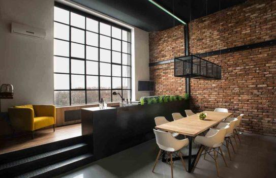 decorative brick in the interior 01 543x350 - Декоративный кирпич в интерьере и идеи его кладки