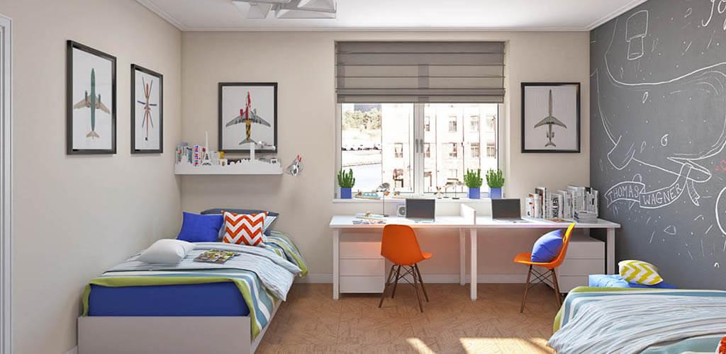 design detskoy comnati dlya shkolnika - Дизайн детской комнаты для школьника