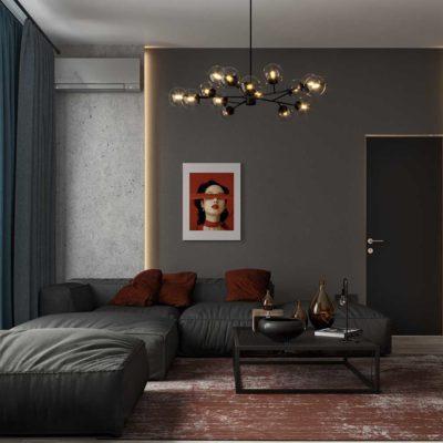 """Дизайн интерьера апартаментов в ЖК """"Новопечерские Липки"""" by ARCHEVISTA DESIGN"""