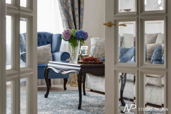 Дизайн интерьера двухкомнатной квартиры в классическом стиле by NP-Studio-Design - фото 1