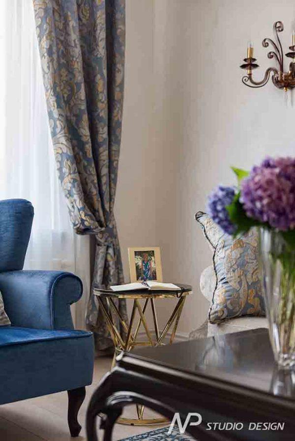 Дизайн интерьера двухкомнатной квартиры в классическом стиле by NP-Studio-Design - фото 5