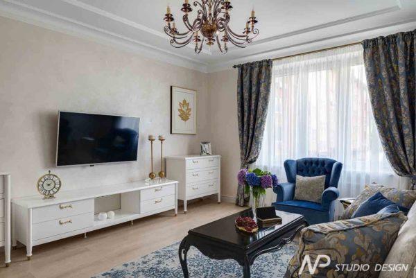 Дизайн интерьера двухкомнатной квартиры в классическом стиле by NP-Studio-Design - фото 6
