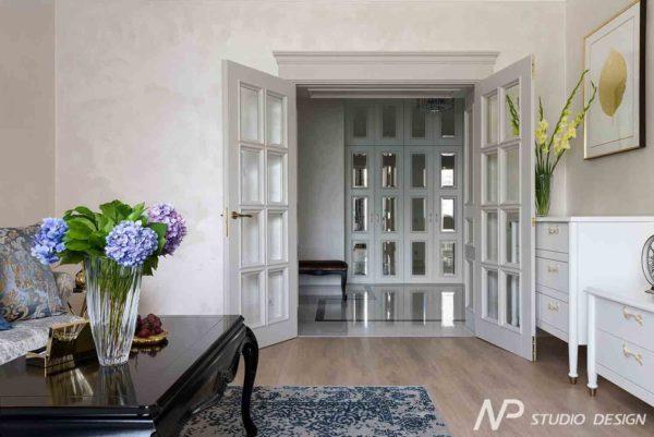 Дизайн интерьера двухкомнатной квартиры в классическом стиле by NP-Studio-Design - фото 7