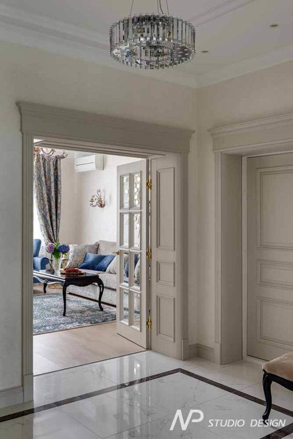 Дизайн интерьера двухкомнатной квартиры в классическом стиле by NP-Studio-Design - фото 10