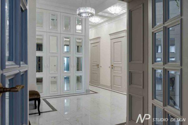 Дизайн интерьера двухкомнатной квартиры в классическом стиле by NP-Studio-Design - фото 11