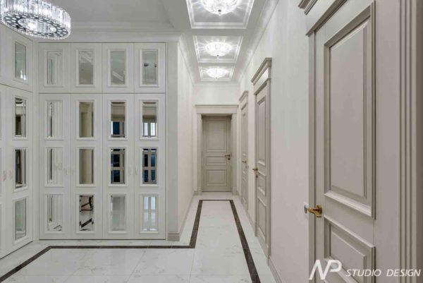 Дизайн интерьера двухкомнатной квартиры в классическом стиле by NP-Studio-Design - фото 12