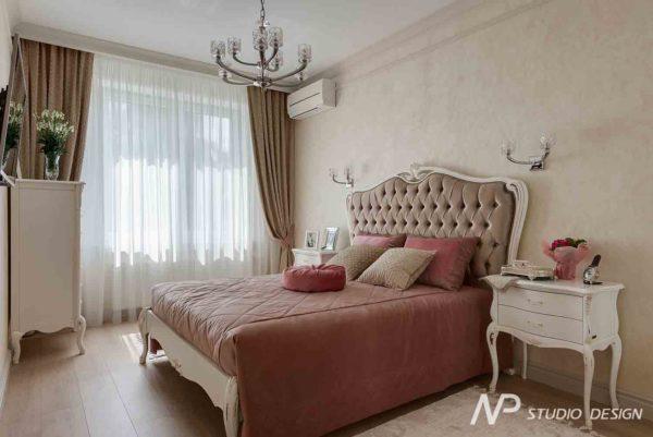 Дизайн интерьера двухкомнатной квартиры в классическом стиле by NP-Studio-Design - фото 13
