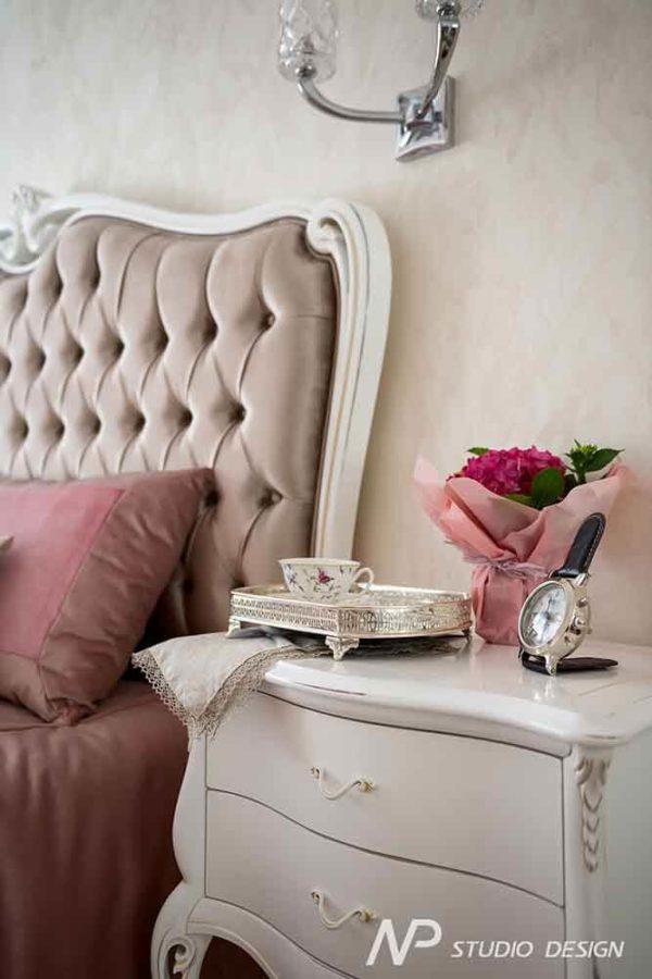 Дизайн интерьера двухкомнатной квартиры в классическом стиле by NP-Studio-Design - фото 14