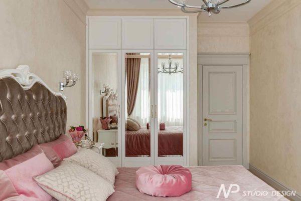 Дизайн интерьера двухкомнатной квартиры в классическом стиле by NP-Studio-Design - фото 15