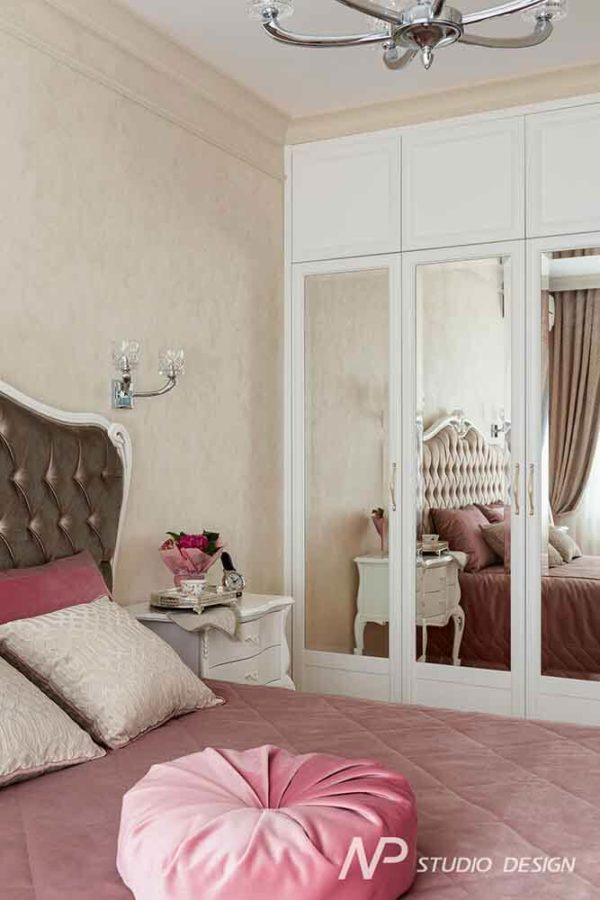 Дизайн интерьера двухкомнатной квартиры в классическом стиле by NP-Studio-Design - фото 16