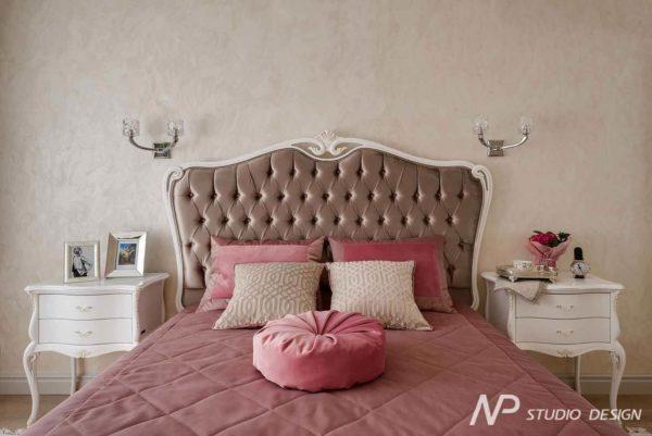 Дизайн интерьера двухкомнатной квартиры в классическом стиле by NP-Studio-Design - фото 17