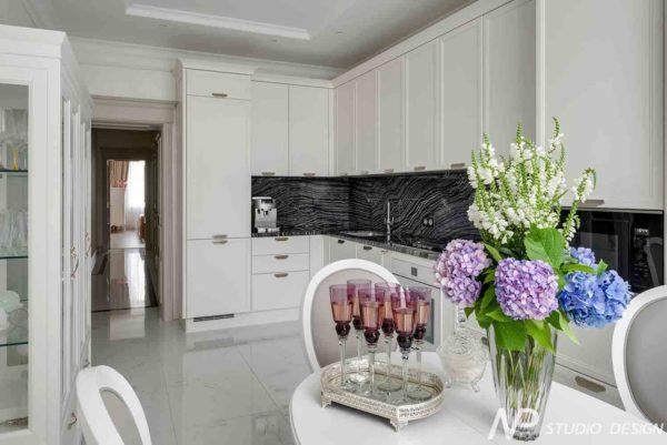 Дизайн интерьера двухкомнатной квартиры в классическом стиле by NP-Studio-Design - фото 18
