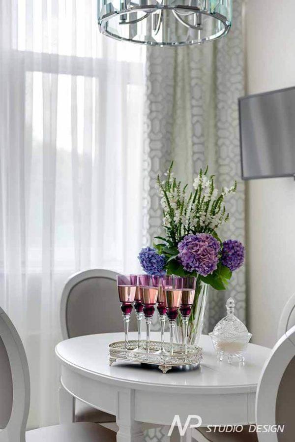 Дизайн интерьера двухкомнатной квартиры в классическом стиле by NP-Studio-Design - фото 21