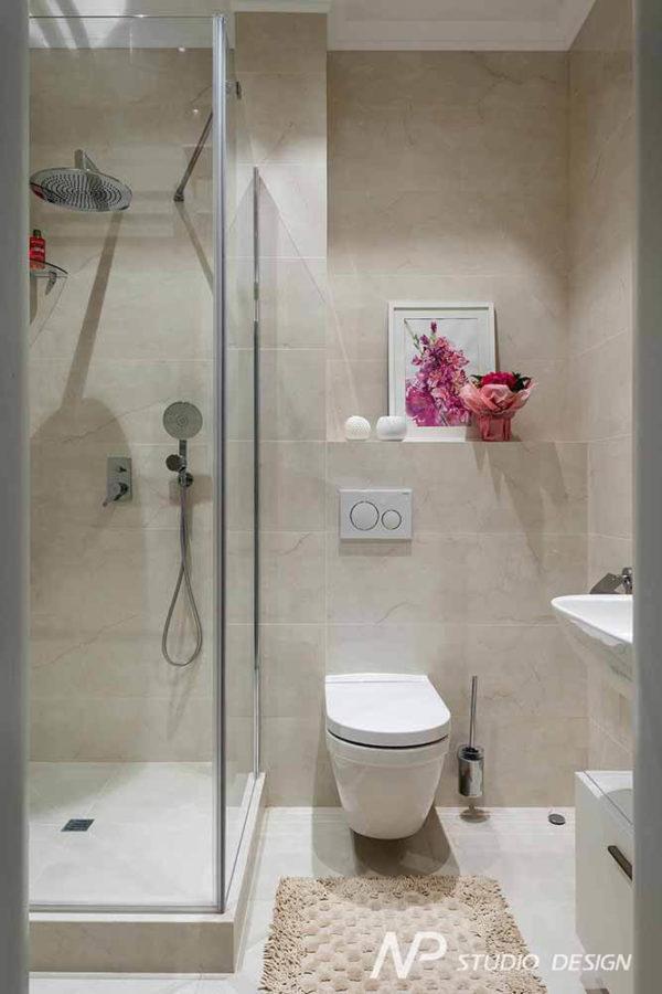 Дизайн интерьера двухкомнатной квартиры в классическом стиле by NP-Studio-Design - фото 22