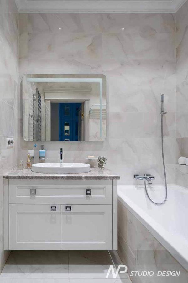 Дизайн интерьера двухкомнатной квартиры в классическом стиле by NP-Studio-Design - фото 23