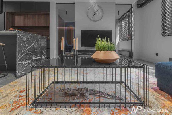 """Дизайн интерьера однокомнатной квартиры """"Контраст в самом центре города"""" by NP Studio Design - фото 9"""