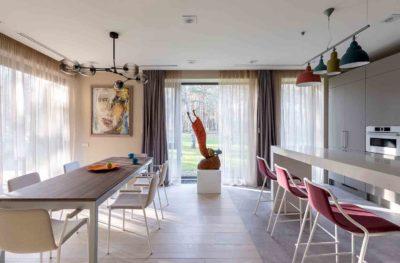 Интерьер дома коллекционера в стиле контемпорари by TSEH - фото 3