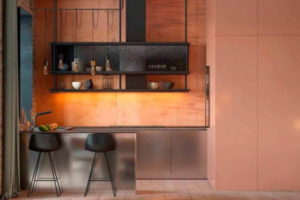 """Дизайн интерьера трехкомнатной квартиры эклектика: классика + лофт """"Patrick"""" by ZOOI - фото 2"""