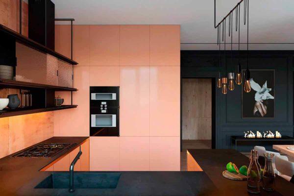 """Дизайн интерьера трехкомнатной квартиры эклектика: классика + лофт """"Patrick"""" by ZOOI - фото 4"""