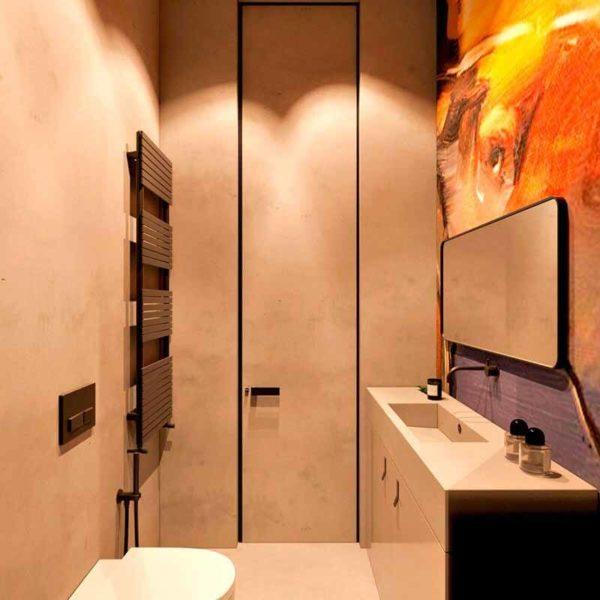 """Дизайн интерьера трехкомнатной квартиры эклектика: классика + лофт """"Patrick"""" by ZOOI - фото 12"""