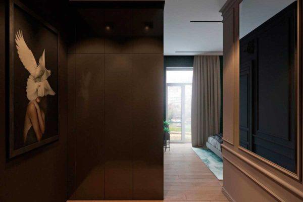 """Дизайн интерьера трехкомнатной квартиры эклектика: классика + лофт """"Patrick"""" by ZOOI - фото 18"""