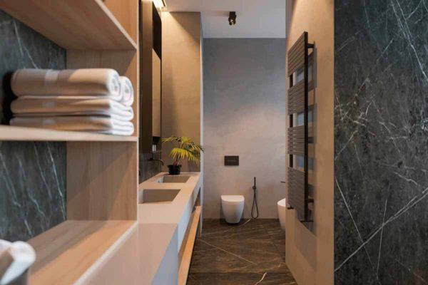 """Дизайн интерьера трехкомнатной квартиры эклектика: классика + лофт """"Patrick"""" by ZOOI - фото 25"""