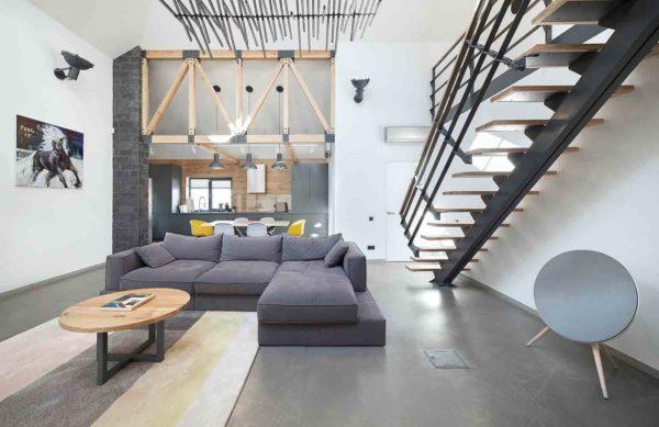 Реконструкция и дизайн интерьера дома в минималистическом стиле by TSEH - фото 1