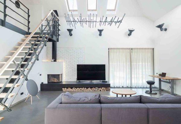 Реконструкция и дизайн интерьера дома в минималистическом стиле by TSEH - фото 2