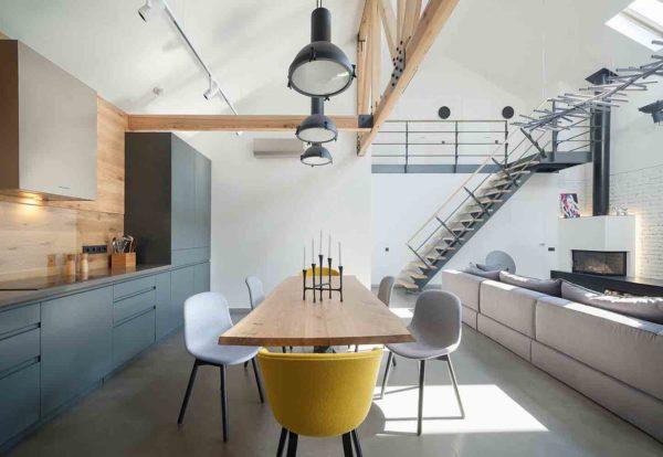 Реконструкция и дизайн интерьера дома в минималистическом стиле by TSEH - фото 3