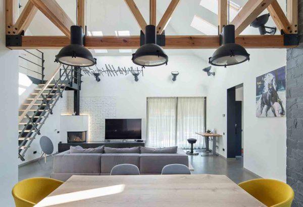 Реконструкция и дизайн интерьера дома в минималистическом стиле by TSEH - фото 4