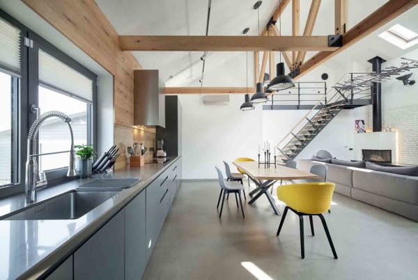 Реконструкция и дизайн интерьера дома в минималистическом стиле by TSEH - фото 5